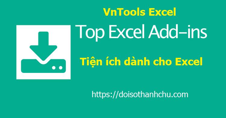 VnTools Excel v2.0 mới nhất